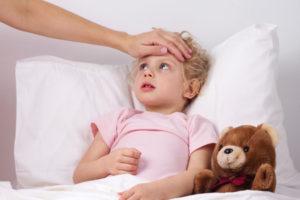 Маленькие дети тяжело переносят грипп