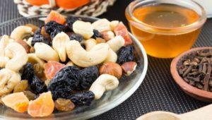 Орехи и сухофрукты для иммунной системы