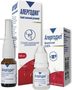 Лечение симптоматики поллиноза на глазах