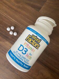 Витамин D3 Natural Factors