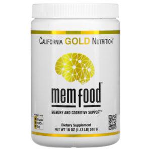 Mem Food California Gold Nutrition