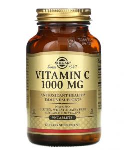 Solgar витамин C, 1000 мг